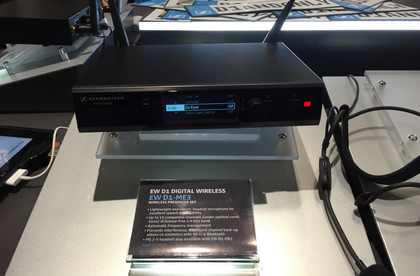 Produktlaunch in Kalifornien - NAMM 2015: Fotos der neuen evolution wireless D1-Serie am Sennheiser-Stand