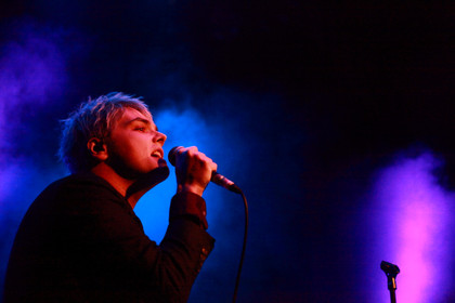 Kreischalarm - Fotos: Gerard Way live im Gloria in Köln